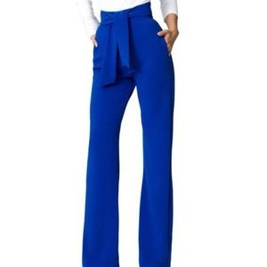 Pants - ✨HIGH WAIST ROYAL BLUE PANTS✨